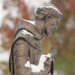 St. Francis covered in Snow